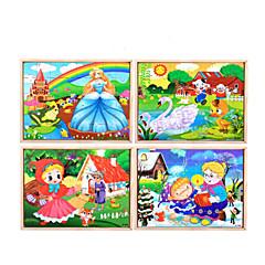 Bildungsspielsachen Holzpuzzle Spielzeuge Schwan Zeichentrick Blume friut Unisex Stücke