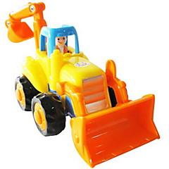 Αυτοκίνητο έλκυσης προς τα πίσω/Αυτοκίνητο αδράνειας Κουρδιστό παιχνίδι Αυτοκίνητα Παιχνιδιών Όχημα κατασκευών Εκσκαφέας Παιχνίδια Κλαρκ