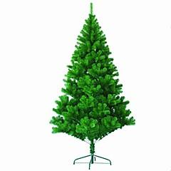 1 db 1,2 m tele borovi tűvel karácsonyfa díszített karácsonyi