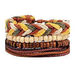 abordables Bijoux pour Femme-Homme Femme Bracelets de rive Bracelets - Cuir Personnalisé, Bohème, Rock Bracelet Marron Pour Quotidien Décontracté Plein Air