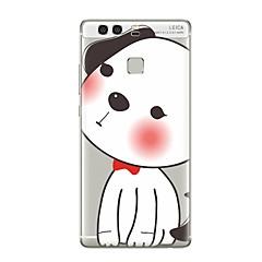 Недорогие Чехлы и кейсы для Huawei Mate-Кейс для Назначение Huawei P9 Huawei P9 Lite Huawei P8 Huawei Huawei P9 Plus Huawei P8 Lite Huawei Mate 8 Прозрачный С узором Кейс на