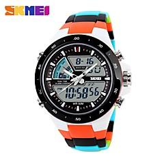 preiswerte Damenuhren-Herrn Quartz digital Digitaluhr Armbanduhr Smartwatch Militäruhr Totenkopfuhr Sportuhr Chinesisch Alarm Kalender Chronograph Wasserdicht