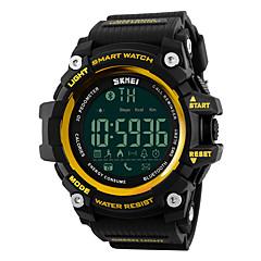Herre Sportsur Kjoleur Smartur Modeur Armbåndsur Unik Creative Watch Digital Watch Kinesisk Digital Kalender Kronograf Vandafvisende LED