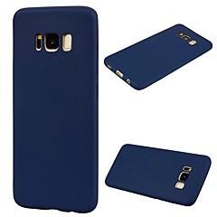 Etui Til Samsung Galaxy S8 Plus S8 Ultratyndt Bagcover Helfarve Blødt TPU for S8 S8 Plus S7 edge S7 S6 edge S6