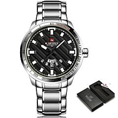preiswerte Tolle Angebote auf Uhren-NAVIFORCE Herrn Quartz Armbanduhr / Militäruhr / Sportuhr Japanisch Kalender / Wasserdicht / Kreativ / Großes Ziffernblatt / Punk / Cool