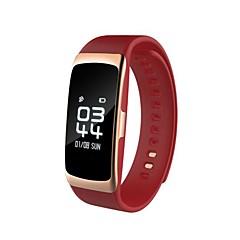 tanie Inteligentne zegarki-Inteligentna bransoletkaWodoszczelny Długi czas czuwania Spalone kalorie Krokomierze Rejestr ćwiczeń Sportowy Pulsometr Ekran dotykowy
