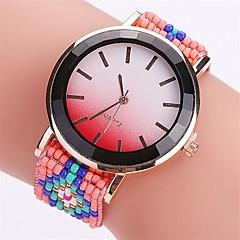 tanie Zegarki damskie-Damskie Modny Zegarek na nadgarstek Unikalne Kreatywne Watch Na codzień Chiński Kwarcowy Plastic Pasmo Tęczowy Na co dzień Kreatywne