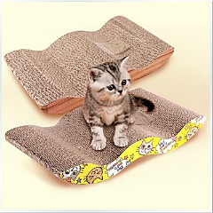 لعبة للقطة ألعاب الحيوانات الأليفة بهار للقطط لوح التقطيع ورقة للحيوانات الأليفة