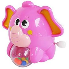 Κουρδιστό παιχνίδι Παιχνίδια Ελέφαντας Ζώο Πλαστικά Κομμάτια Δεν καθορίζεται Δώρο