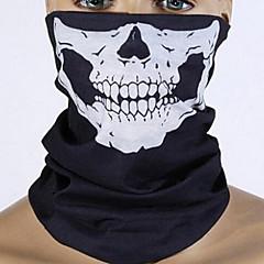kreatív fekete koponya szájkosarak halloween ünnepi dekorációhoz