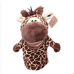 preiswerte -Plüschtiere Fingerpuppe Spielzeuge Pferd Cow Nilpferd Hirsch Tiere Kind Erwachsene Stücke