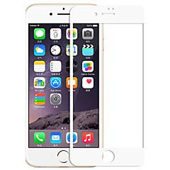 voordelige -zxd 3d volledige dekking voor iphone 7 plus gebogen zachte rand koolstofvezel gehard glas screen protector film