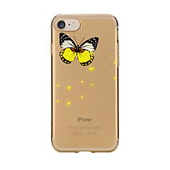 Чехол для iphone 7 6 бабочка tpu мягкая ультратонкая задняя крышка чехол iphone 7 плюс 6 6s плюс se 5s 5 5c 4s 4