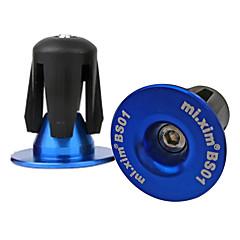 abordables Puños y Manguitos para Manillar-Tapa del manillar de la bicicleta Ciclismo de Pista / Ciclismo / Bicicleta / Bicicleta de Montaña Ciclismo Plásticos / Aleación de aluminio 6061 Rojo / Azul / Dorado
