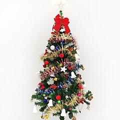 1pc 1,5 m / 150cm luxus titkosítás karácsonyfa díszített nappali szoba hotel csomagok karácsonyi új év gif