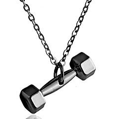 Муж. Жен. Ожерелья с подвесками Бижутерия В форме трубки Геометрической формы СплавПанк Хип-хоп Симпатичные Стиль Готика Pоскошные