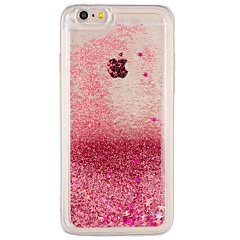 Tilfældet til Apple iPhone 7 plus iPhone 7 cover flydende væske bagside cover glitter shine hard pc til iPhone 6s plus iphone 6 plus