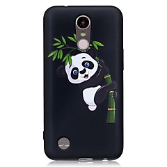 Case for LG K10(2017) K8(2017) Cover Panda Pattern Back Cover Case Soft TPU