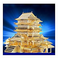 preiswerte -3D - Puzzle Metallpuzzle Modellbausätze Berühmte Gebäude Architektur 3D Heimwerken Metal Geburtstag 6 Jahre alt und höher
