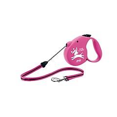 お買い得  犬用首輪/リード/ハーネス-犬 リード 調整可能 / 携帯用 / 安全用具 ソリッド プラスチック レッド / ピンク