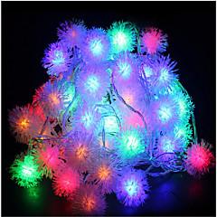 billige LED-stribelys-10m 60led rgb ferie streng lys bryllup fest dekorere gardin lys 220v