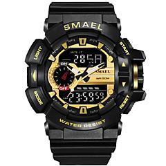 Slim horloge Waterbestendig Sportief Multifunctioneel Timer Wekker Chronograaf Kalender Geen Sim Card Slot