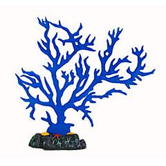 tanie Dekoracje do akwarium-Dekoracja Aquarium Koralowy Świecący Silikonowy