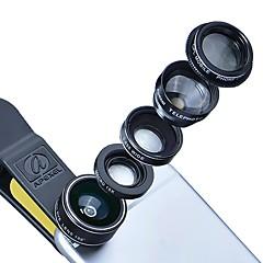 Lentilles de caméra smartphones 0.49x lentille grand angle 0.45x lentille macro 12.5x lentille focale 12x pour iphone huawei xiaomi