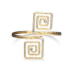 preiswerte Armbänder-Damen Manschetten-Armbänder - Luxus, Quaste, Punk Armbänder Gold Für Party Abschluss Alltag