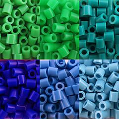 abordables Cuentas y Adornos de Cuentas-aprox 500pcs / bolsa de 5 mm perlas de fusibles hama bricolaje eva rompecabezas de material safty para niños (surtido de 6 colores, b25-b33)