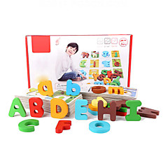 Brettspiel Bildungsspielsachen Holzpuzzle Spielzeuge Spielzeuge Buchstabe Stücke Jungen Mädchen Geschenk