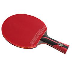 6 gwiazdek Ping Pang/Rakiety tenis stołowy Ping Pang Włókno węglowe Długi uchwyt Pryszcze 1 Rakieta 1 Pokrowiec do tenisa stołowego