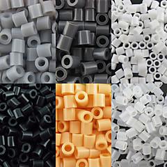 약 500PCS / 가방 5mm 퓨즈 비즈 하마 비즈 아이를위한 DIY 퍼즐 EVA 소재의 추구한다 (모듬 6 색, B44-B50)