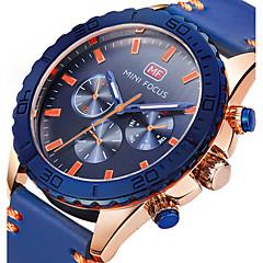 Ανδρικά Αθλητικό Ρολόι Στρατιωτικό Ρολόι Μοδάτο Ρολόι Ρολόι Καρπού Μοναδικό Creative ρολόι Καθημερινό Ρολόι Χαλαζίας Γνήσιο δέρμα Μπάντα