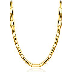 Miesten Geometric Shape Klassinen Goottityyli minimalistisesta joulua Tyylikäs Choker-kaulakorut Korut Kultainen Choker-kaulakorut ,