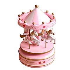 Music Box Zabawki Konik Karuzela Tworzywa sztuczne Sztuk Dziecko Dla obu płci Walentynki Prezent
