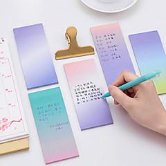 1 db színátmenetű öntapadós jegyzet 40 oldal (véletlenszerű szín)
