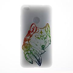 Чехол для huawei p8 lite (2017) p10 корпус крышка волк шаблон 3d рельеф молоко tpu материал телефон чехол для huawei p10 lite p10 plus