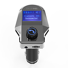 Автомобиль M8S V3.0 Комплект громкой связи Автомобильная гарнитура FM приемники USB слот МР3 плеер
