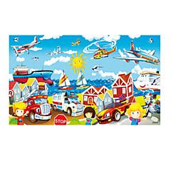 Jucării Educaționale Puzzle Puzzle Lemn Jucarii Mașină Elicopter Unisex Bucăți