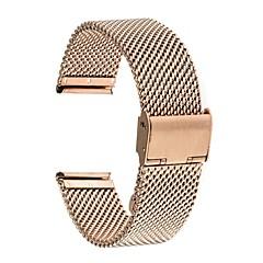 Недорогие Смарт-часы Аксессуары-Ремешок для часов для Huawei Watch 2 Huawei Современная застежка Нержавеющая сталь Повязка на запястье