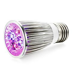 E14 GU10 E27 LED Grow Lights 4 leds High Power LED 360-400lm Red Blue AC85-265