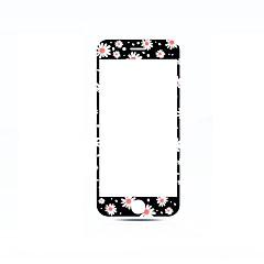 Недорогие Защитные пленки для iPhone 6s / 6-Закаленное стекло Уровень защиты 9H Взрывозащищенный Узор Защита от царапин 3D закругленные углы Защитная пленка на всё устройство Apple