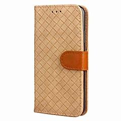 tanie Etui do iPhone-Kılıf Na Apple iPhone X iPhone X iPhone 8 iPhone 8 Plus Etui na karty Portfel Z podpórką Flip Magnetyczne Wzór Pełne etui Geometryczny