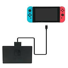 billiga Nintendo Switch-tillbehör-GNS-C001V2 Kablar och Adaptrar Till Nintendo Switch,Mässing Kablar och Adaptrar # Trådbunden 120cm
