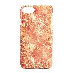 Назначение iPhone 7 iPhone 7 Plus Чехлы панели Матовое Рельефный С узором Задняя крышка Кейс для Мрамор Твердый PC для Apple iPhone 7