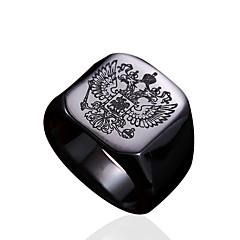 voordelige Herensieraden-Heren Goud Zwart Zilver Roestvast staal Titanium Staal Anderen Gepersonaliseerde Modieus Dagelijks Causaal Kostuum juwelen