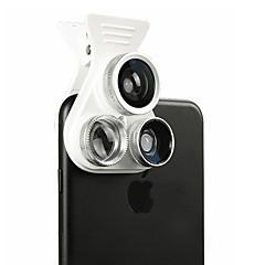 optrix exolens akıllı telefon kamera lensleri 165 geniş açı mercek iphone6 / 6s / 6plus / 6splus ipad için 3x uzun odak uzaklığı