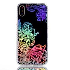 Назначение iPhone X iPhone 8 Чехлы панели С узором Задняя крышка Кейс для Кружева Печать Твердый Акриловое волокно для Apple iPhone X
