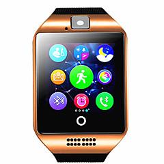 お買い得  デジタルウォッチ-q18 smartwatchブレスレットbluetooth防水電話写真の動きのステップは多機能を数えます.
